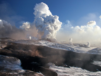 Three volcanoes erupt in Kamchatka Peninsula (PHOTOS)