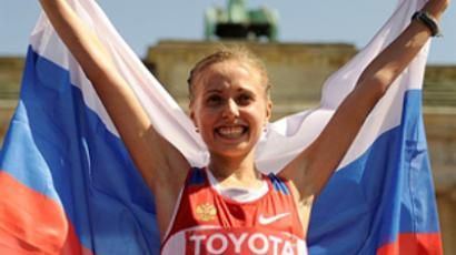 Russian high jumpers impress with one-two win