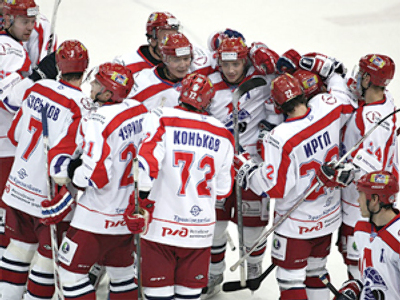 KHL: Lokomotiv knocks out Spartak Moscow