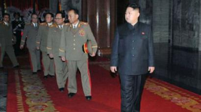 Kim Jong Un (R), son of late North Korean leader kim Jong Il (AFP Photo)