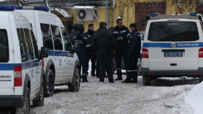 More than 90 crime bosses held as Moscow police raid criminal gatherings (VIDEO)
