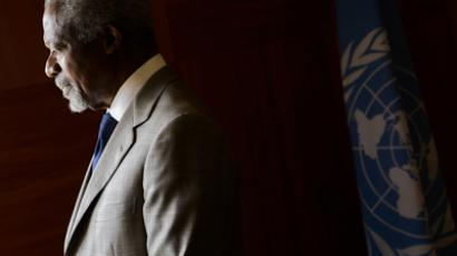 Kofi Annan (AFP Photo / Fabrice Coffrini)