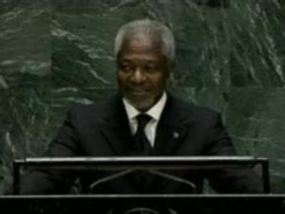 Kofi Annan steps down