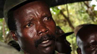 The leader of the Lord's Resistance Army, Joseph Kony. (AFP Photo /  Stuart Price-Pool)