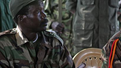 The leader of the Lord's Resistance Army, Joseph Kony (AFP Photo/Stuart Price/Pool)