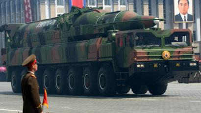 A North Korean missile Taepodong class (AFP Photo / Pedro Ugarte)