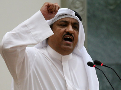 Former Kuwaiti opposition MP Musallam al-Barrak (AFP Photo/Yasser Al-Zayyat)
