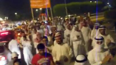 Orange march: Thousands join in Kuwaiti opposition demo as election looms