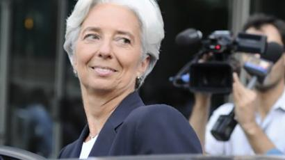 Christine Lagarde (AFP Photo / Miguel Medina)