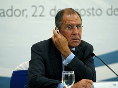 Russia won't recognize National Transitional Council - Lavrov