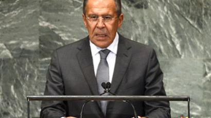 Russian Foreign Minister Sergei Lavrov (AFP Photo / Timothy A. Clary)