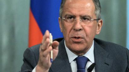 Russian Foreign Minister Sergei Lavrov (RIA Novosti/Valeriy Melnikov)