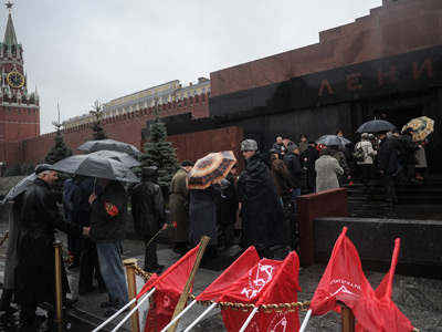 Lenin's Mausoleum at Red Square (RIA Novosti / Vladimir Astapkovich)