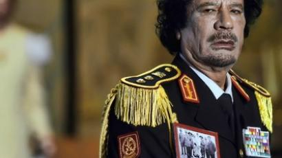 Libya's leader Muammar Gaddafi (AFP Photo / Filippo Monteforte)