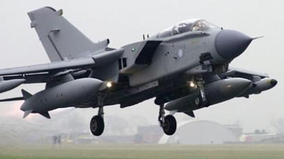 Tornado GR4 Strike aircraft (AFP Photo / Martyn Hayhow)