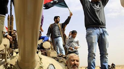 Libyan teen tries to take own life to escape NATO bombs
