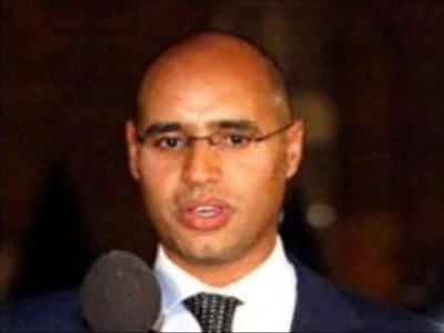 Libyan leader's son gives hope to convicted health workers