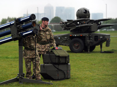 London residents launch legal bid to stop Olympic missiles