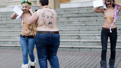 FEMEN protesters missing in Belarus