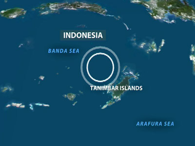 7.1 magnitude earthquake strikes North West Indonesia