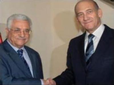 Mahmoud Abbas & Ehud Olmert to meet regularly