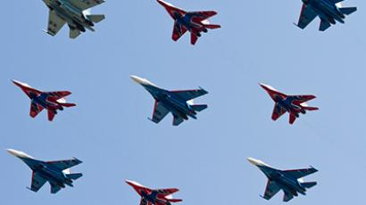 Sky jubilee: Russia celebrates century of its Air Force (PHOTOS, VIDEO)