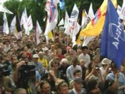 March of Dissent in St. Petersburg gone peacefully