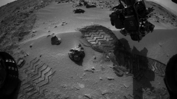 Mars discovery, or screw? NASA rover spots 'bright object ...