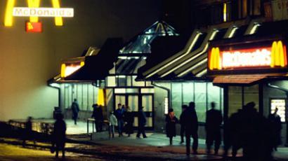McDonald's goes big in Russia
