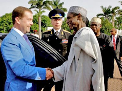 Medvedev visit to Nigeria marred by attacks