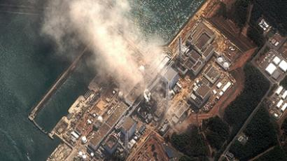 The earthquake and tsunami aftermath at Fukushima Daiichi nuclear plant on March 14, 2011 (AFP Photo / HO / DigitalGlobe/www.digitalglobe.com)