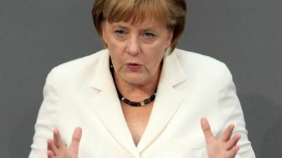 Angela Merkel (AFP Photo / Adam Berry)