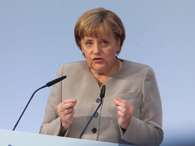 Germany's Chancellor Angela Merkel (Reuters/Thomas Peter)