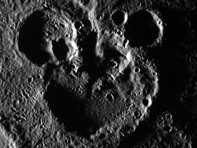 Not Pluto: Mercury Mickey Mouse snapped by NASA orbiter