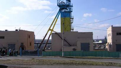 """Sukhodol-Eastern"" mine, Lugansk Region, Ukraine"