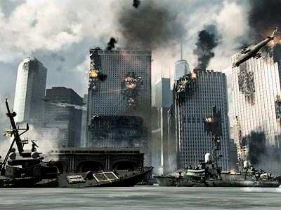 A still shot from Modern Warfare 3