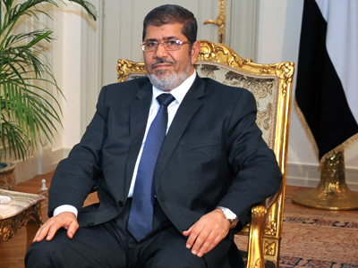 Egyptian President Mohamed Morsi (AFP Photo)