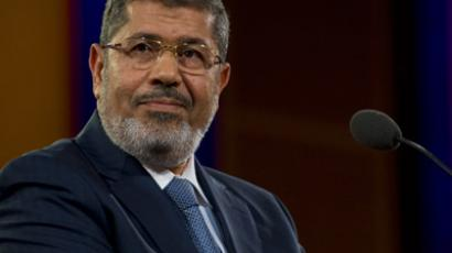 Egyptian President Mohamed Morsi (AFP Photo/Stephen Chernin)