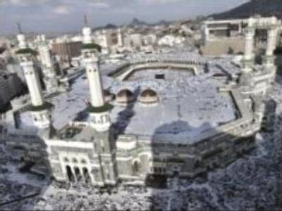 Muslim pilgrims flock to Mecca