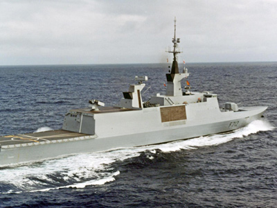 French frigate Le Courbet (AFP Photo / Marine Nationale)