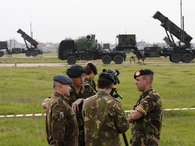 First NATO Patriot battery goes operational in Turkey