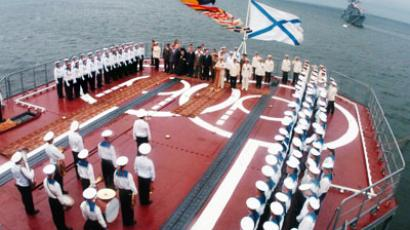 Celebration of the Navy Day in Russia (RIA Novosti / Vitaliy Ankov)