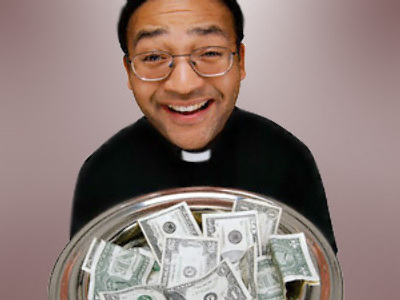 Need cash? Ask your local priest!