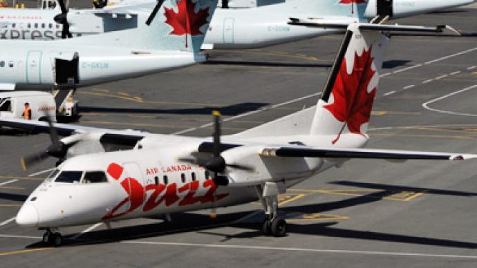 Domestic Flight Canada Food
