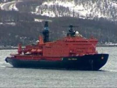 New Russian atomic Ice-breaker prepares to sail north
