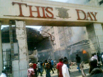Blasts rip through newspaper offices in Nigeria, at least 6 killed (PHOTOS)