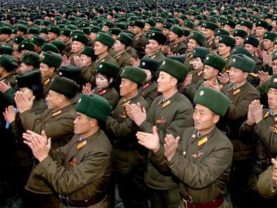 North Korea's army.(AFP Photo / KCNA)