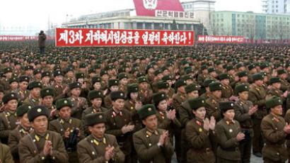 This picture, taken on North Korea's official Korean Central News Agency on February 14, 2013.(AFP Photo / Kcna via Kns)