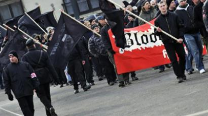 Estonia keeps anti-fascists away from SS veterans' meeting