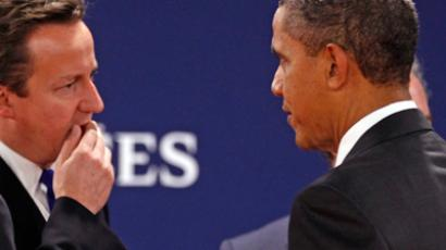 Obama and Cameron: No intervention in Syria, pullout in Afghanistan